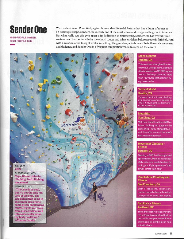 Climbing Mag Page 1