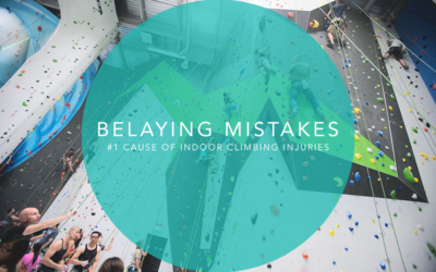 Belaying Mistakes | #1 Cause of  Indoor Climbing Injuries